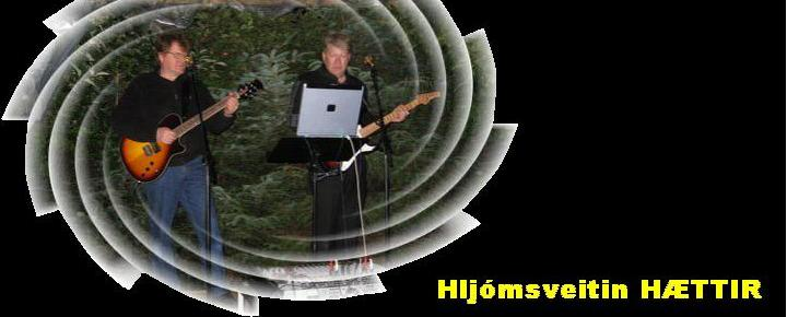 Hljómsveitin HÆTTIR - Hausmynd
